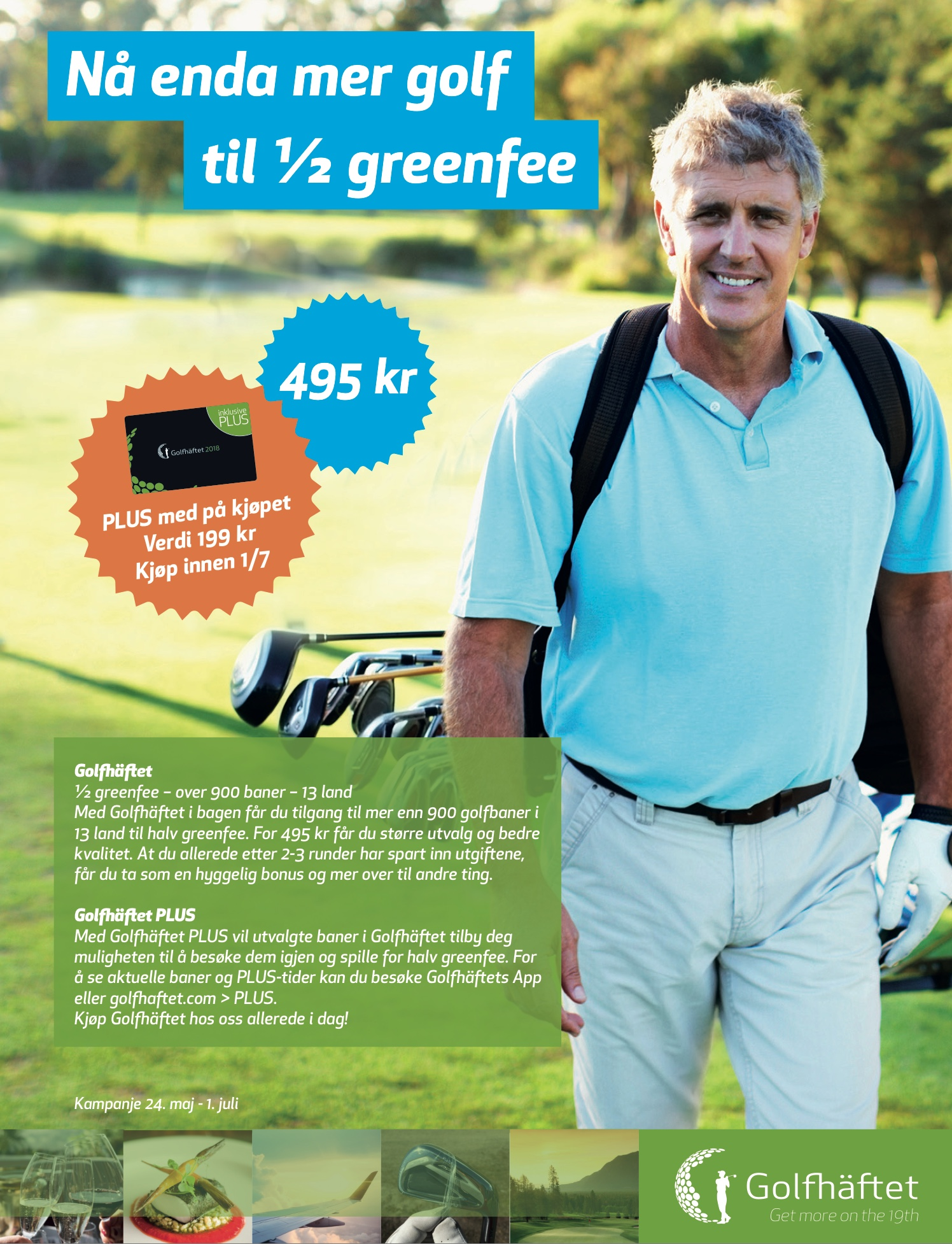 Siste sjanse - Golfheftet sommar kampanje!