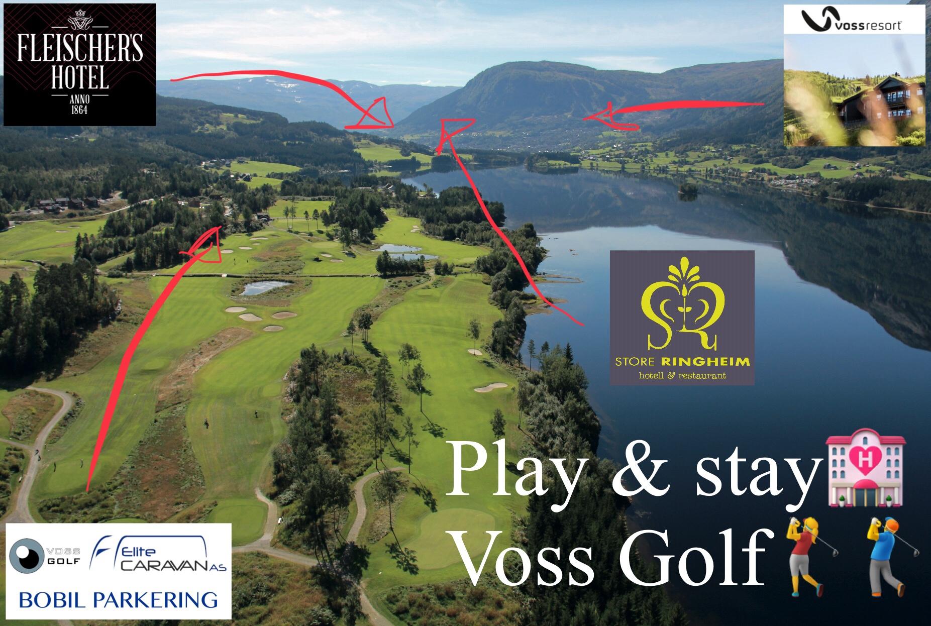 Hotell- og golf pakker Voss Golf