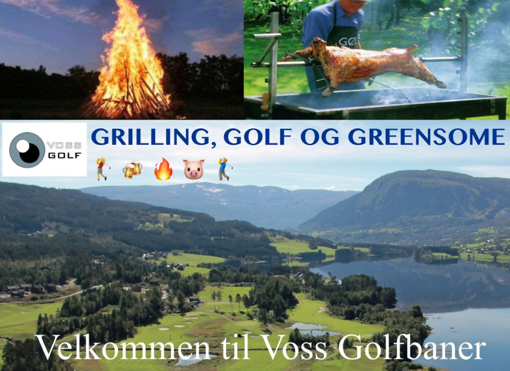 Golf, grilling og Greensome