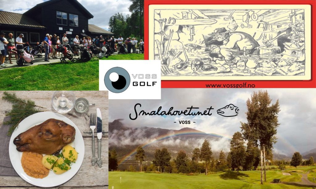 Påmelding, Smalahove Golf 2018