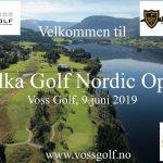 Invitasjon, Belka Golf Nordic Open 2019