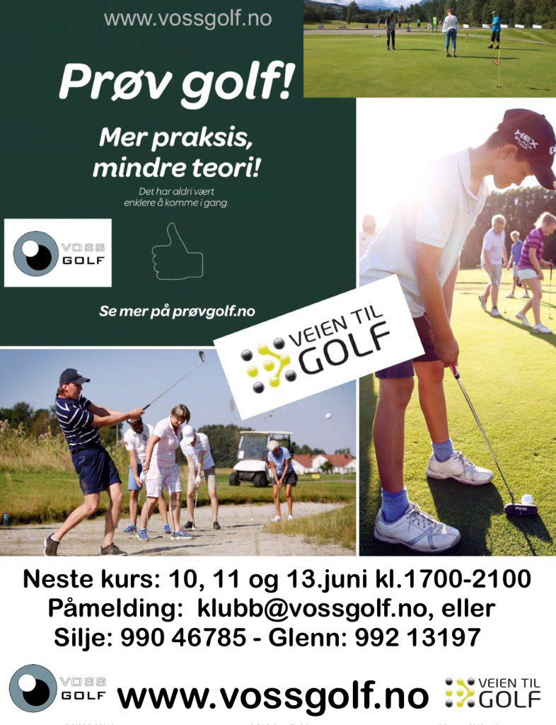Vegen Til Golf kurs 10.juni🏌️♀️