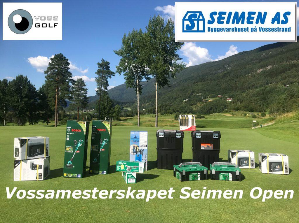 Vossa mesterskapet Seimen Open 2019