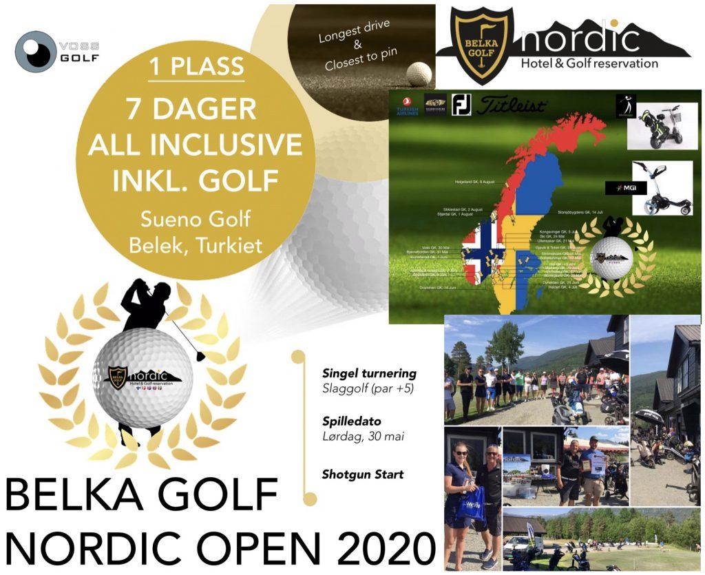 Påmelding Belka Golf Nordic Open 2020⛳️
