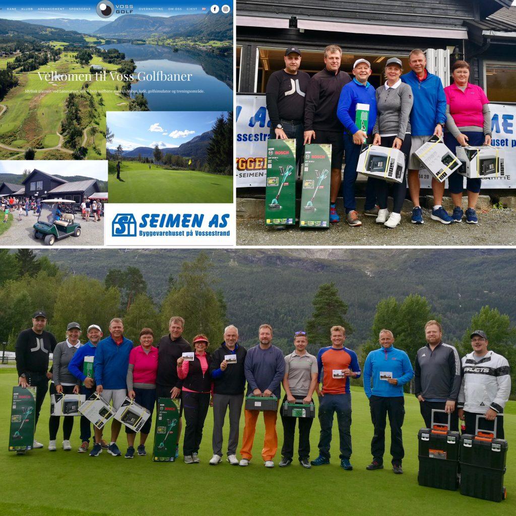 Vossa mesterskapet Seimen Open 2020!⛳️