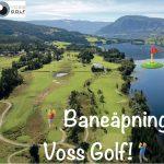 Åpning av golfbanen!⛳️