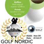 Golf Nordic Open - parturnering
